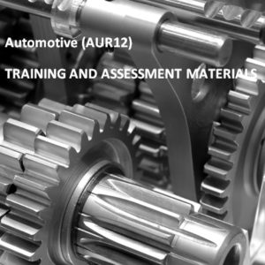 AUR12 - Automotive Industry Retail, Service and Repair Training Package