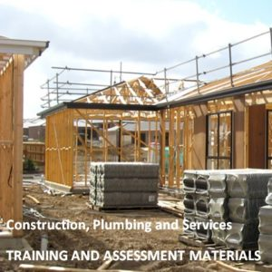 CPC08 - Construction Plumbing and Services Training Package
