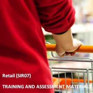 SIR07 - Retail Services Training Package