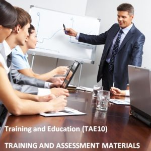 TAE10 - Training and Education